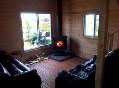 inside 16 x 24 cottage