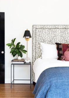 Bedside Manner - A Stationery Designer's Cheery Austin Bungalow - Photos