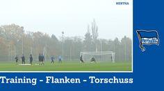 Training Torschüsse Flanken   Jos Luhukay   Hertha BSC #hahohe