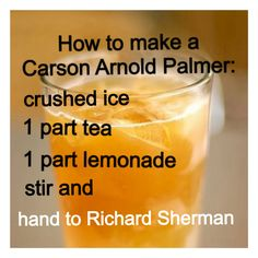 Here's a good drink recipe for today's game. @Seattle Seahawks #12thMan #Louder