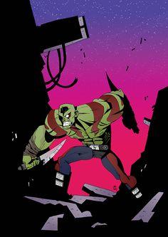 Comicus - IllustrART: stile deformed e colori acidi nelle illustrazioni di Jonathan Lankry
