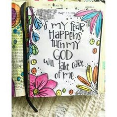 Bible Journaling by Trudy Barker Bible Art, Bible Quotes, Esther Bible, Beth Moore, Faith Bible, Illustrated Faith, Faith In Love, Love Words, Trust God
