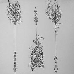 unalome arrow tattoo - Recherche Google