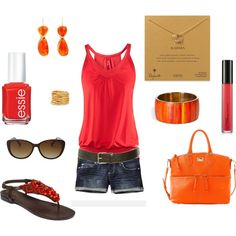 """Summer Outfit"" by mmmathiews on Polyvore"