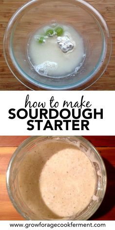 Learn everything you need to know including all of my tips and tricks for making a homemade sourdough starter Its the first step for making all sort of delicious sourdoug. Gourmet Recipes, Bread Recipes, Baking Recipes, Real Food Recipes, Sourdough Recipes Starter, Buttermilk Recipes, Paleo Bread, Pancake Recipes, Baking Tips