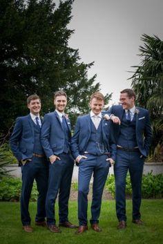 Hot-Men-Wedding-Suits-Groomsmen-Suit-3-Piece-Party-Custom-Groom-Tuxedos-Blazer