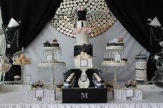 Fashion Runway Dessert Table