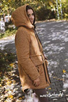 Parka für Damen mit großzügigen Taschen - Anleitung via Makerist.de