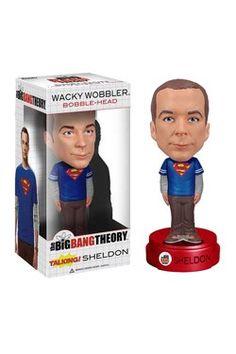 "The Big Bang Theory"": Wacky Wobbler Bobble-Head Sheldon 15 cm"