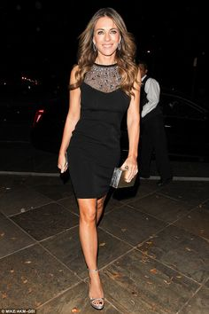 Shine like Elizabeth in an embellished dress by Blumarine   Click 'visit' to buy it now  #DailyMail