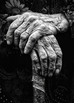 The Meaning of Hands http://wp.me/p3XHbp-mL Hands are a living narrative written by a lifetime of use. There is a story recorded in every weathered crease, a lament in every callous  and an anecdote in every scar ... Photo by Ludmila Yilmaz  @Gwen Tuinman