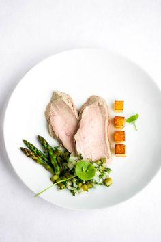…in 4 Gängen: Kalbstafelspitz | Zitronengras | Spargel | Kartoffel