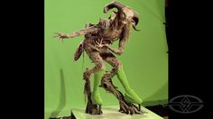 "PAN'S LABRYNTH - A beautiful use of the Hybrid Effect. Doug Jones portrays ""Fauno"" in Guillermo Del Toro's PAN'S LABYRINTH. Special Makeup Effects by DDT Efectos Especiales."