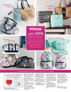 March 2017 Thirty-One Special  March 2017 Customer and Hostess Special