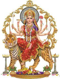 Apple iPhone Custom Case White Plastic Snap on - World Religion Hindu Goddess Durga on Tiger 7532 Durga Kali, Shiva Shakti, Durga Goddess, Lord Durga, Divine Mother, Mother Goddess, Mother Kali, Orisha, Ganesha