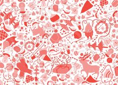 Jouluaatto. Wrapping paper.  By Kati-Marika