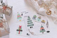 不器用さん必見マスキングテープで簡単おしゃれなクリスマスカード