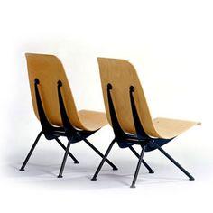 Jean Prouvé, Antony Chair. 1950. Reminds me of Alexander Calder mobiles.