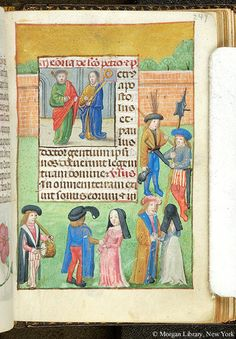Book of Hours, MS S.7 fol. 249r - Images from Medieval and Renaissance Manuscripts - The Morgan Library & Museum