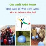 Soccer Charity for Kids With a Ball As Durable as Their Spirit. A soccer charity that provides indestructible soccer balls to war torn areas.   #Soccer #Darfur #parenting #KBN