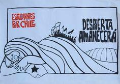 Cartel realizado el año 2005 (Brigada Ramona Parra)