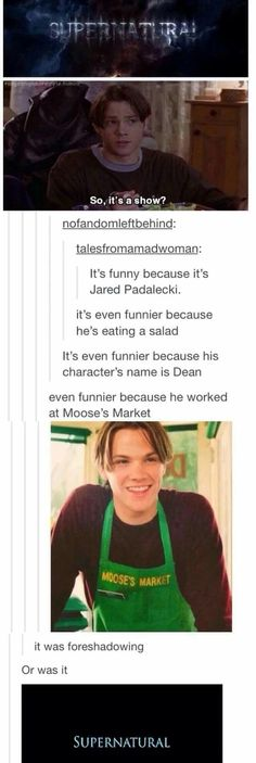 """IT WAS DOOSE'S MARKET SMH BUT OTHER THAN THAT ACCURATE LOL JARED PADELECKI ALSO THE NEXT LINE IS """"So it's a show? No, it's a LIFESTYLE"""""""