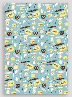 Buy a sheet of our new baking-inspiring wrapping... | Wrap magazine