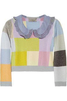 preen cropped sweater