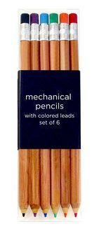 Mechanical Pencils with Colored Leads set of 6 by International Arrivals: Product Image