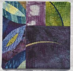 Leaf 5 by Lou Ann Smith | 2015 art quilt | Abstrakted