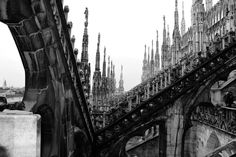 https://flic.kr/p/9oC3dK | Milano | I have always been fascinating by the majesty of this cathedral... it was nice to be on the roof again after so many years...