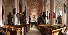 "inside a beautiful church in Mondsee, Austria. Which happens to be the same church Maria and George from ""The Sound of Music"" are married in."