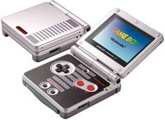 CLASSIC NES LIMITED EDITION GAME BOY ADVANCE SP SYSTEM