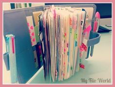 June Filofax Inspiration | Me! MaDonna!