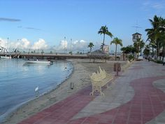 I try to walk the Malecon every day I am here.  The Malecón in La Paz, Baja California Sur, Mexico.