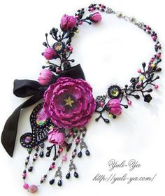 Polymer Clay and Beads Jewelry By Yuliya Galuschak - Life Chilli