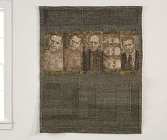 Aleksandra Stoyanov, geweven tapijt Monologue