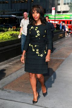 Kerry Washington out and about in New York City, September 24, 2015