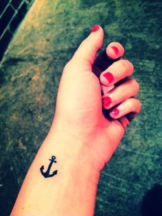 Anchor tattoo | strength stability courage