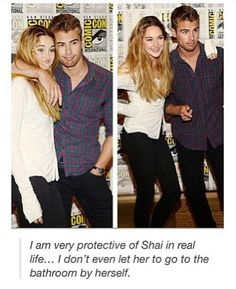 Divergent at Comic-Con. OK I've decided. He's a perfect Four :))))