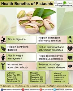 Pistachios - a nut with many benefits