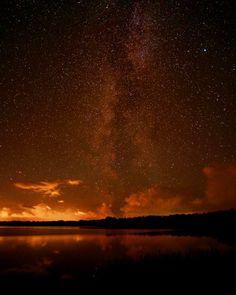 Starry night over Kvie Sø , Denmark. Shot last night. For more photos follow me on instagram: @yasinjensen #livealittle #lake #cosmos #universe