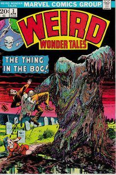 Weird Wonder Tales #3 (1st Series 1973)  April 1974  Marvel Comics Grade F/VF