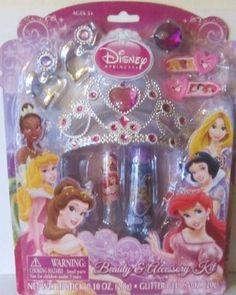 Amazon.com: Disney Princess Beauty & Accessory Kit: Toys & Games