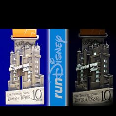 Sept. 29, 2012 - Disney's Inaugural Hollywood Tower of Terror 10-Miler.