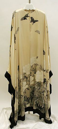 Evening dress  Hanae Mori  (Japanese, born 1926)  Date: spring/summer 1983 Culture: Japanese Medium: silk