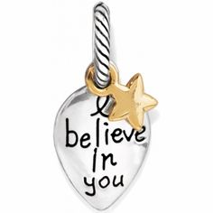Believe Charm available at #BrightonCollectibles