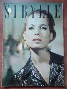 """can't believe, that this is not a current one - east german fashion magazine   SIBYLLE 6 - 1963 (2)  Kostüm Pelze festliche Kleider Allegretto Abendanzug """"Ost-Vogue"""""""