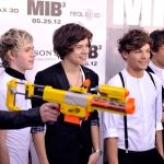 Zayn Malik, Niall Horan, Harry Styles, Louis Tomlinson and Liam Payne of One Direction attend the 'Men In Black 3' New York Premiere at Ziegfeld Theatre on May 23, 2012 in New York City.
