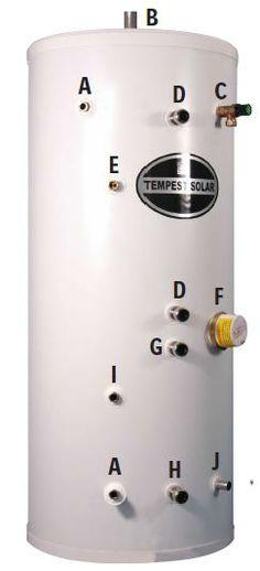 The Heatrae Sadia Megaflo Eco 145DD Unvented Direct Stainless Steel ...